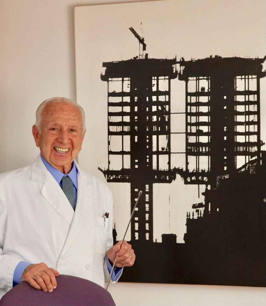 Falleció el arquitecto Antonio Lamela a los 90 años