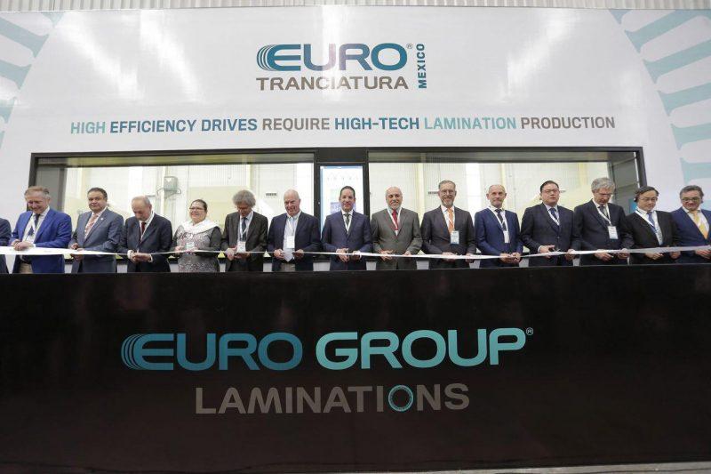 Inauguraron en Querétaro planta de Eurotranciatura