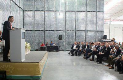 Crown abrió primera etapa de su planta en Nuevo León
