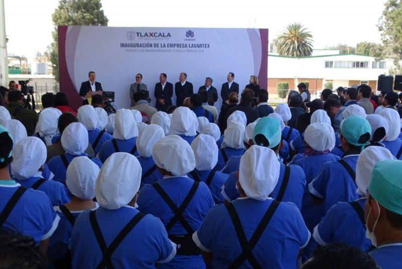 Inauguran ampliación de Lavartex en Ixtacuixtla