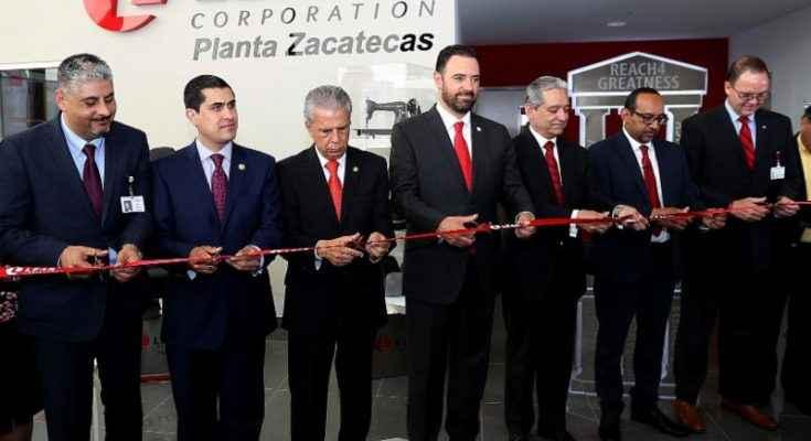 Lear Corporation inauguró planta en Parque Industrial de Calera