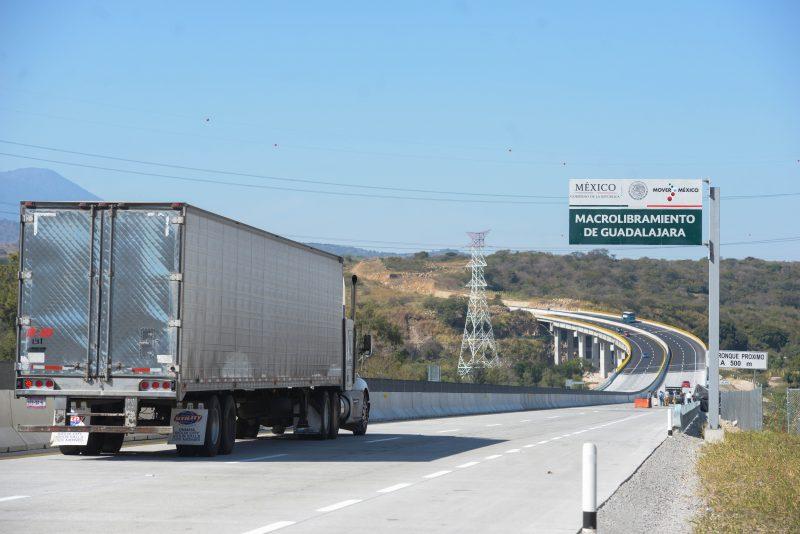 Peña Nieto inauguró Macrolibramiento de Guadalajara