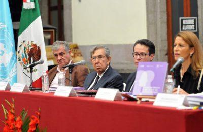 """Presentan libro """"Ciudad de México lugar donde las culturas dialogan"""""""