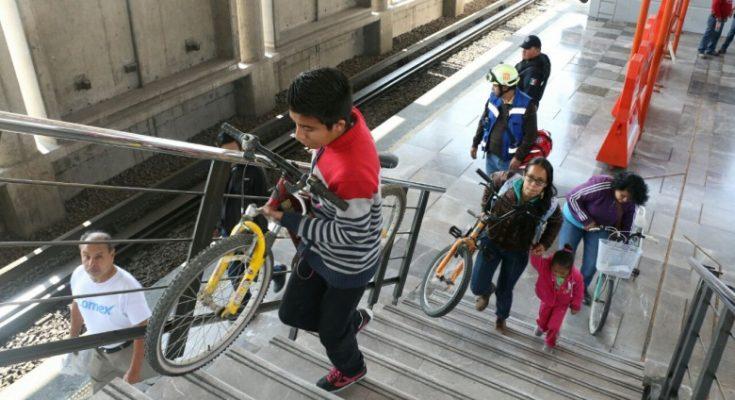 Abren acceso para ciclistas en Línea B