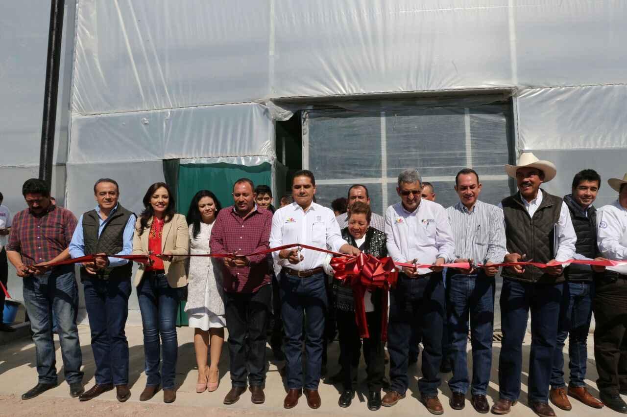 Invierten 215 mdp para agroparque en Michoacán