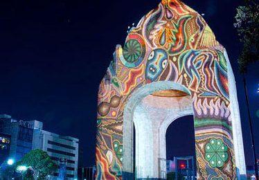 Filux alista proyecciones monumentales e iluminación arquitectónica