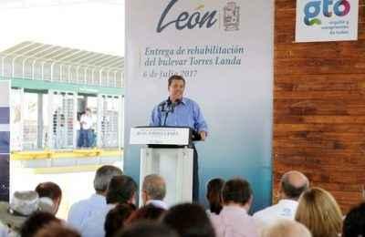 Destinan 110 mdp para obras de movilidad en León