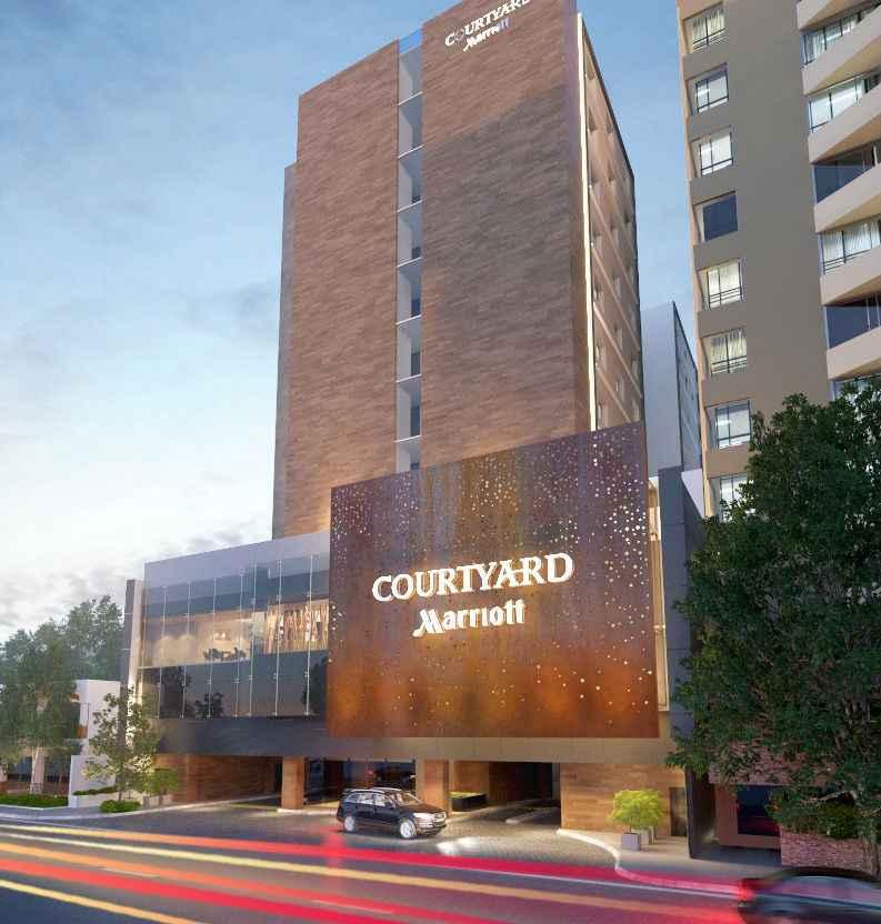Inauguran hotel de la cadena Marriott en Guatemala