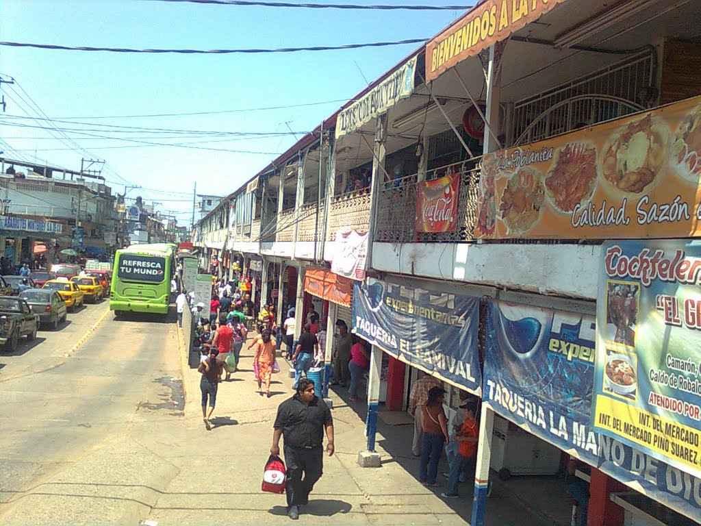 Alistan mercado provisional en Tabasco