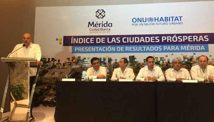 ONU-Habitat presenta resultados de CPI en Mérida
