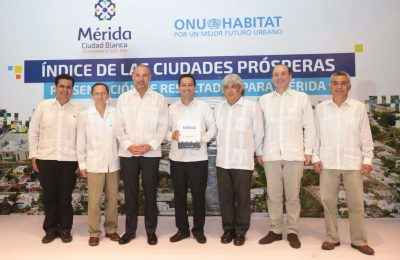 Alcalde de Mérida participará en foro internacional de ONU Hábitat