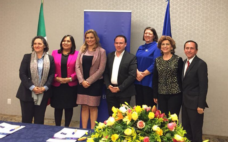 Unión Europea y Mérida se unen en favor de movilidad