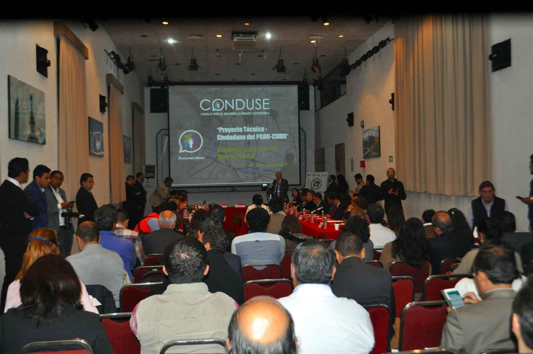 Concluyen mesas de diálogo del PlanCDMX