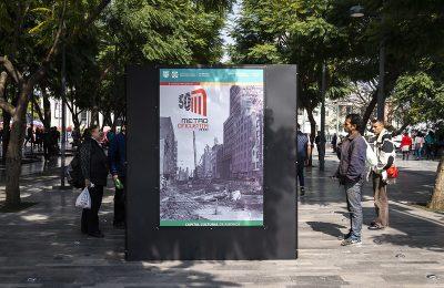 Exhiben muestra fotográfica en paseo Ángela Peralta