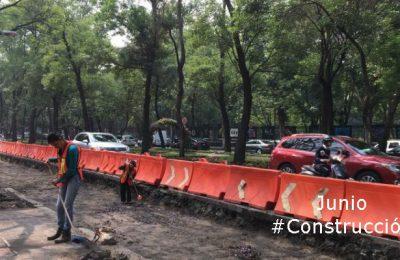 #LoMejorDelAño Reanudarán obras del Metrobús en Reforma