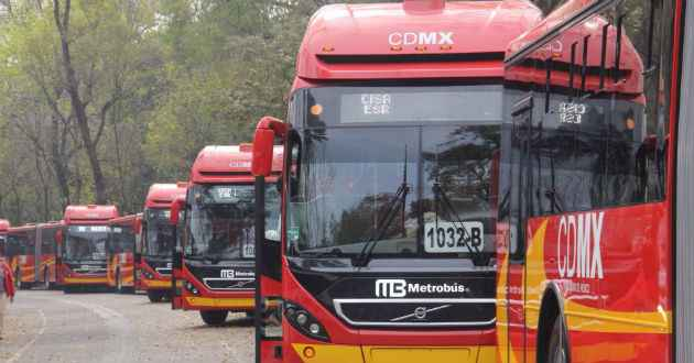 Estos son los cortes al servicio del Metrobús por fiestas Patrias
