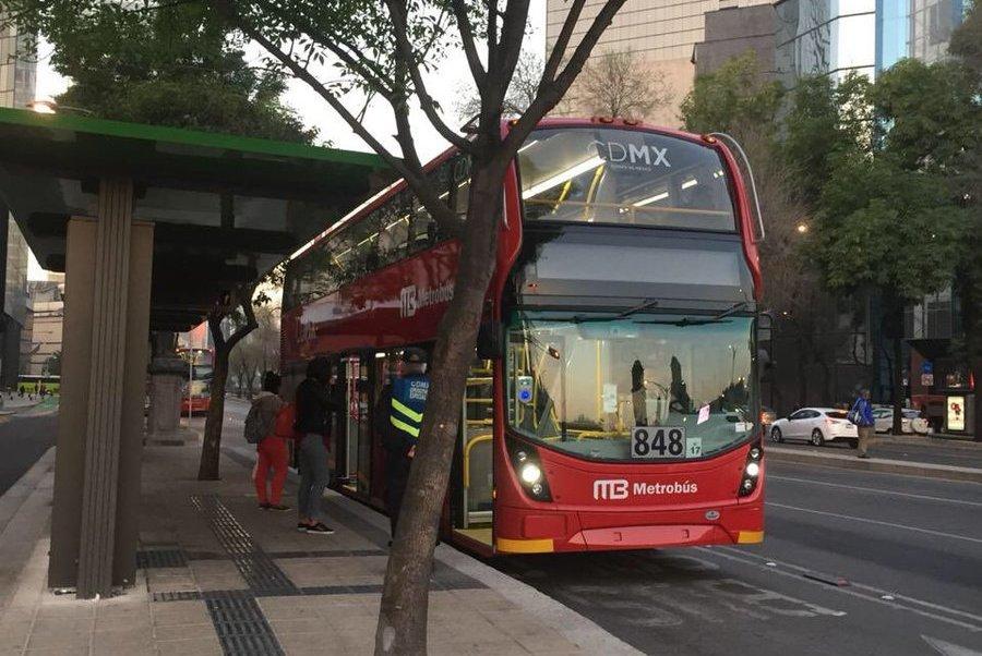 Con SEMOVI y ADIP, Metrobús abre datos de operación en tiempo real