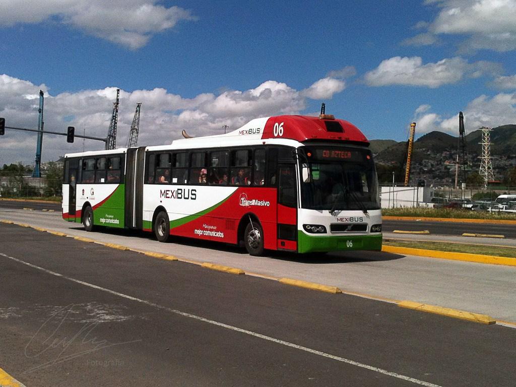 Anuncian nueva ruta de Mexibus