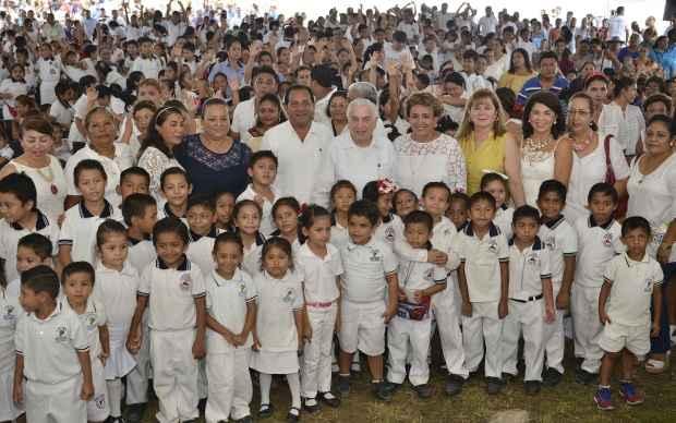 Mejoran imagen urbana en Nacajuca, Tabasco