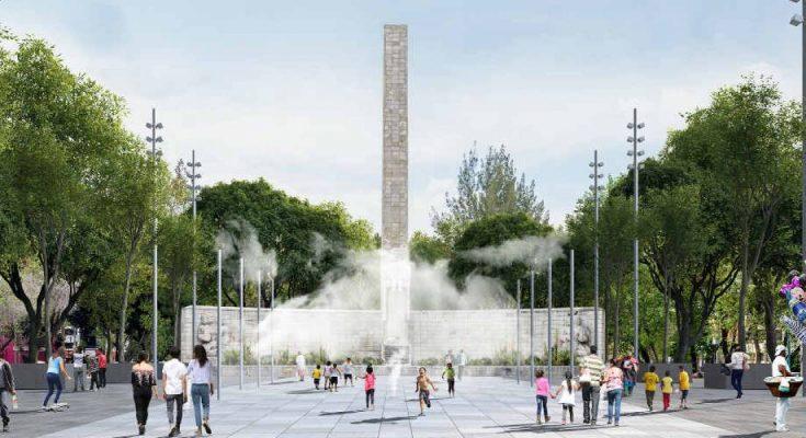 Finalizan trabajos de recuperación en Monumento a la Madre