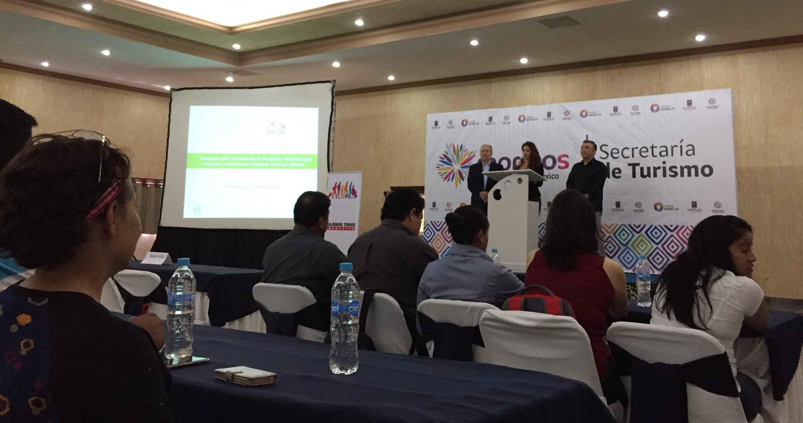 EB Turismo reconoció la labor turística de Morelos