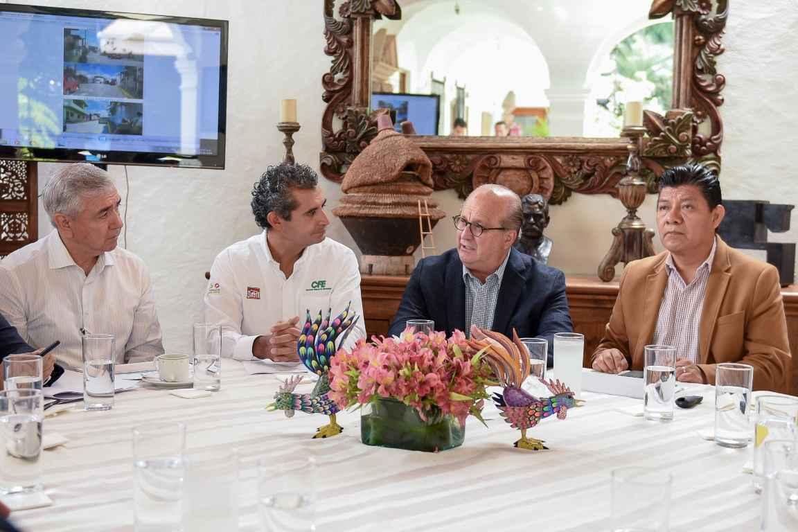 CFE y gobierno de Morelos revisan su Plan Integral