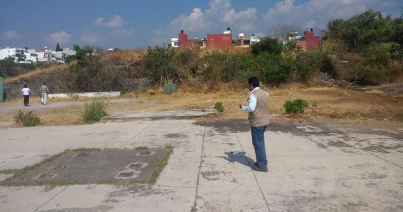 Buscan terrenos seguros para reubicación de afectados por 19S