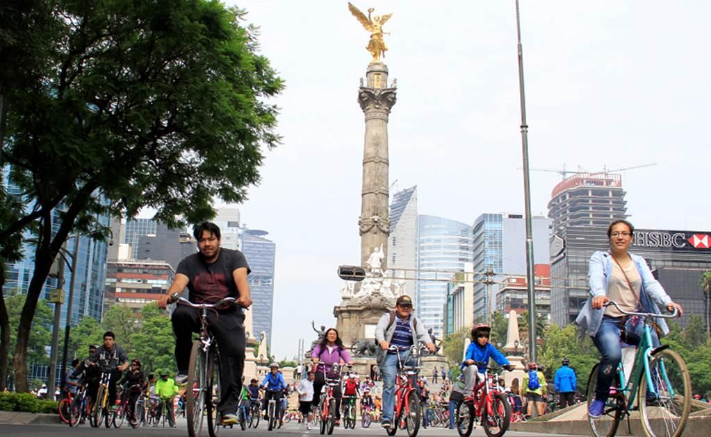 'Muévete en bici' rompe record de asistencia en la CDMX