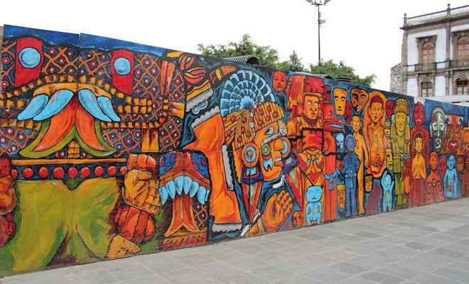Rescatan mercados p blicos con arte portal inmobiliario for Arte colectivo mural