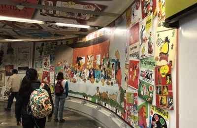 Inauguran estación dedicada a caricaturistas mexicanos