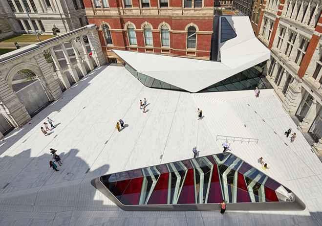 Museo Victoria & Albert amplia y renueva sus instalaciones