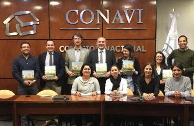 Recibe Conavi recomendaciones para generar viviendas sostenibles