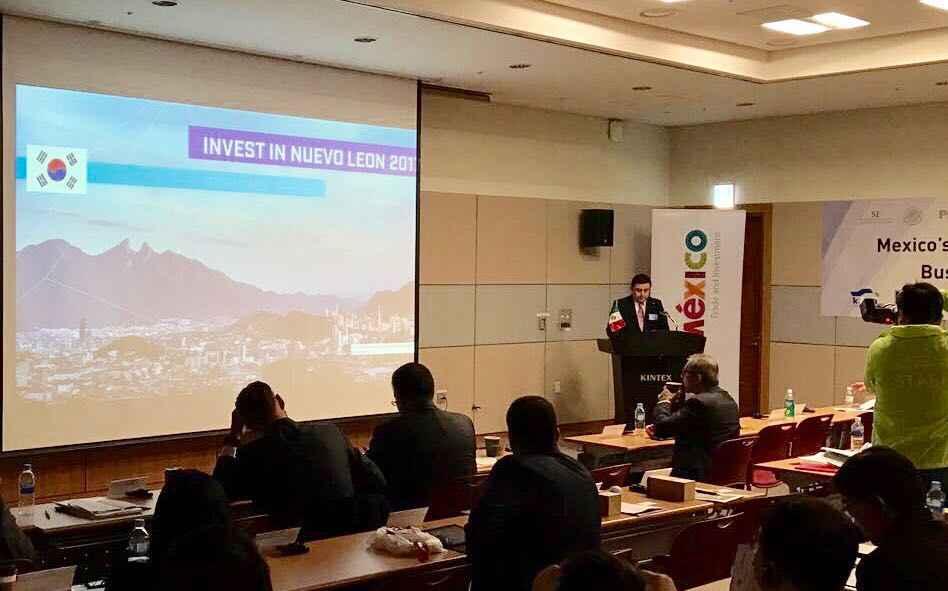 Nuevo León busca inversionistas de Corea del Sur