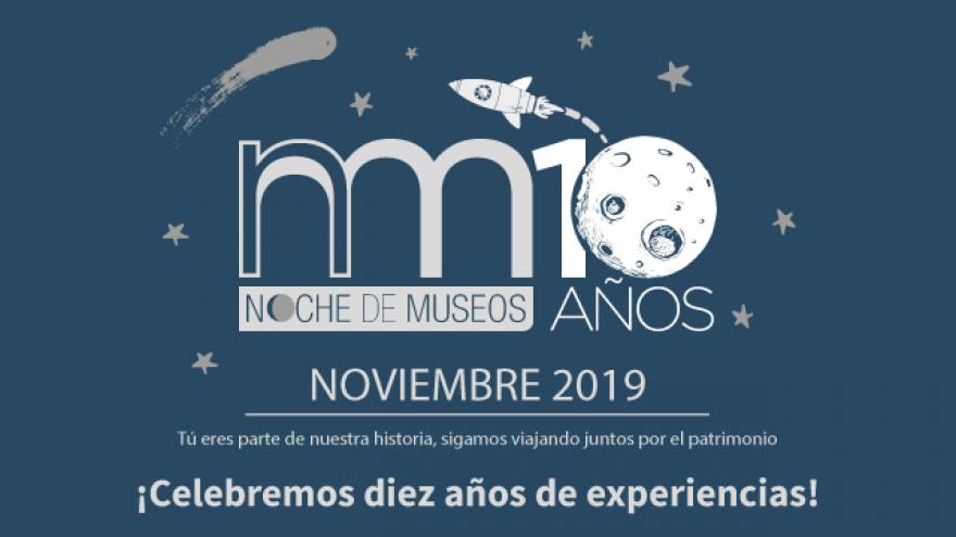 Más de 45 recintos festejarán la última Noche de Museos del año