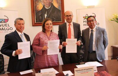 Miguel Hidalgo y notarios combatirán corrupción inmobiliaria