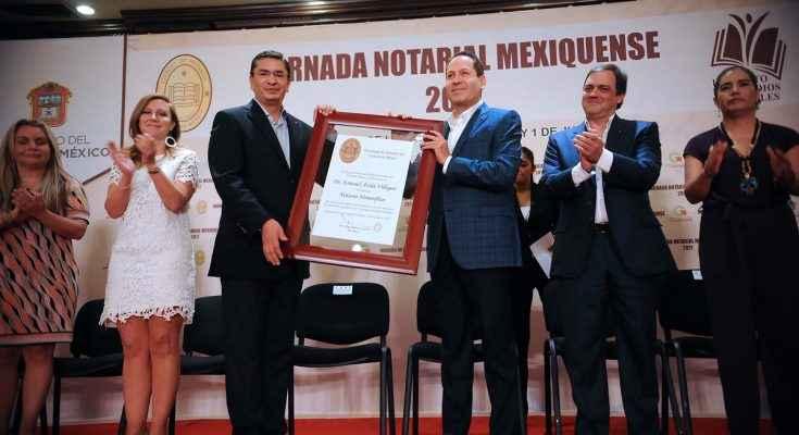 Nombran a notarios provisionales en el Edomex