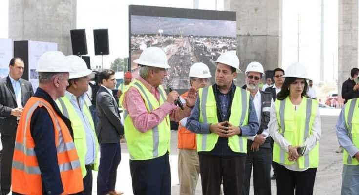 SCT supervisa avances de la obra del Tren Interurbano México – Toluca