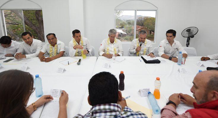 Destacan avance en reconstrucción de Oaxaca