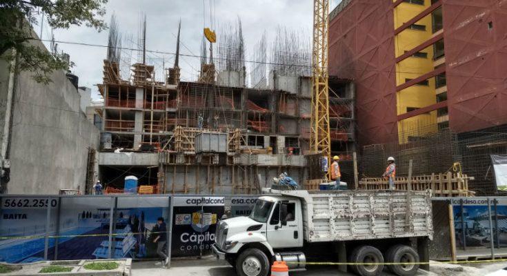 Empresas constructoras reportaron caída en confianza