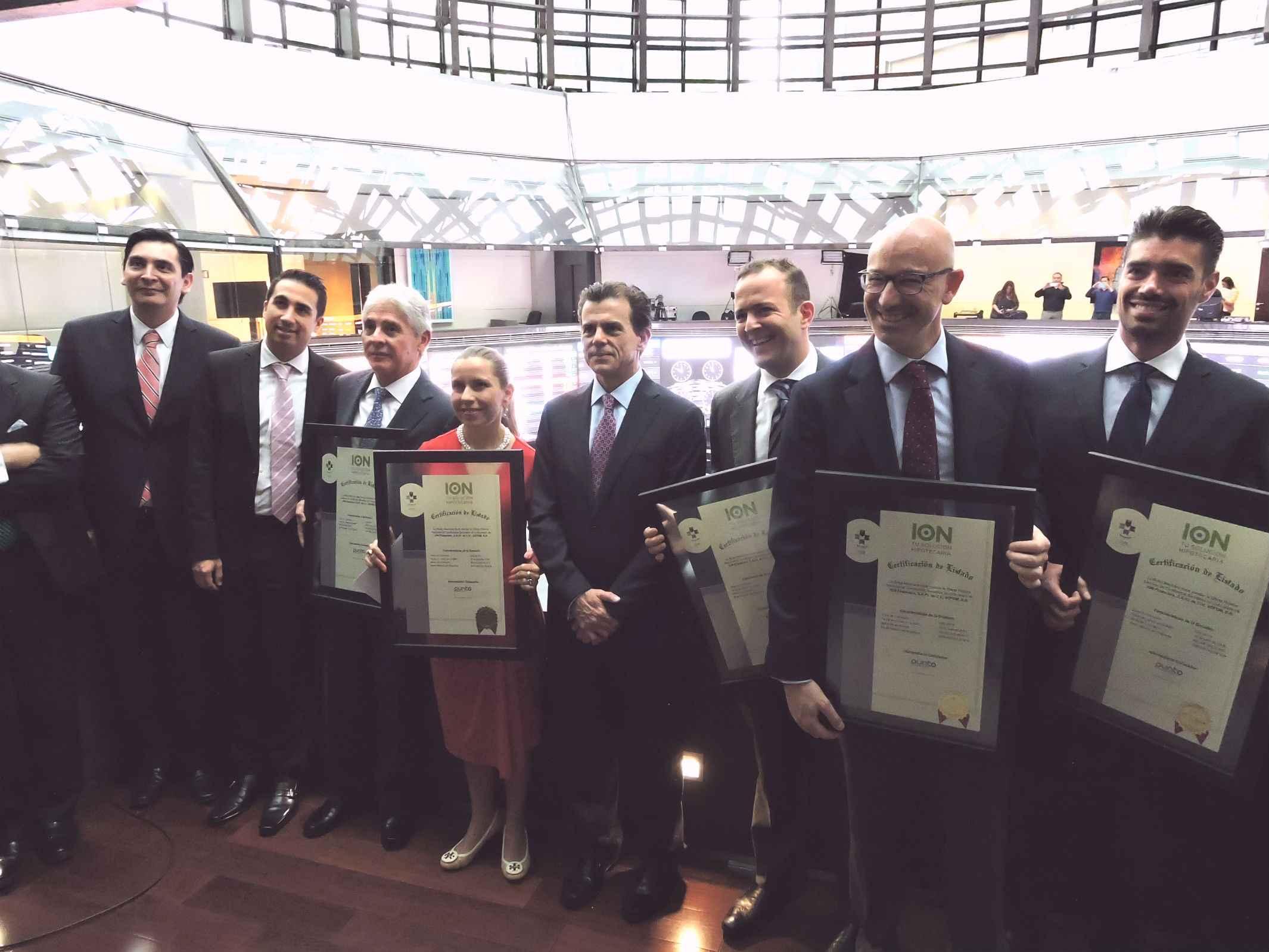 ION Financiera coloca certificados de corto plazo en BMV