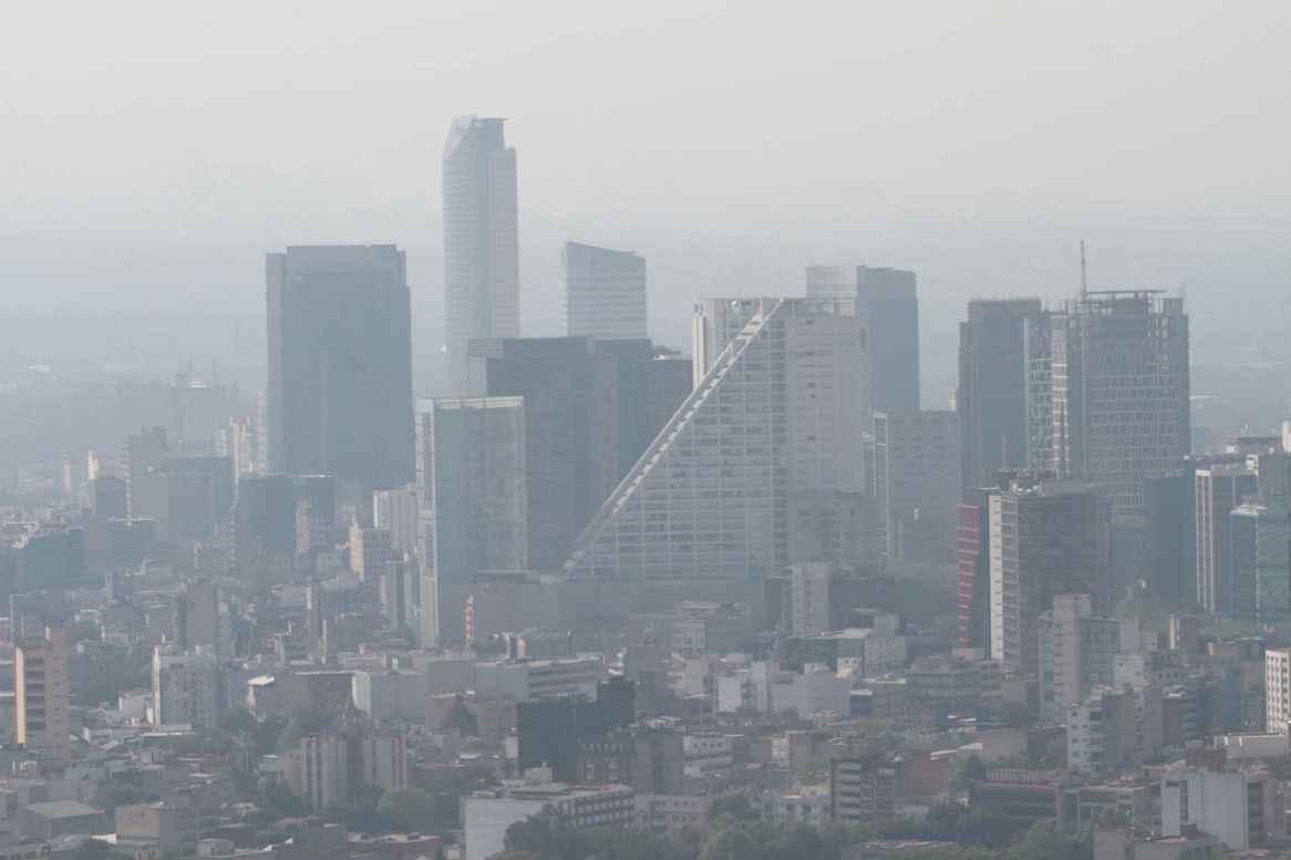 Activan contingencia ambiental en la Ciudad de México