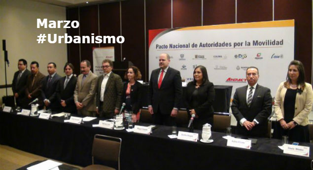 #LoMejorDelAño Firman Pacto Nacional de Autoridades por la Movilidad