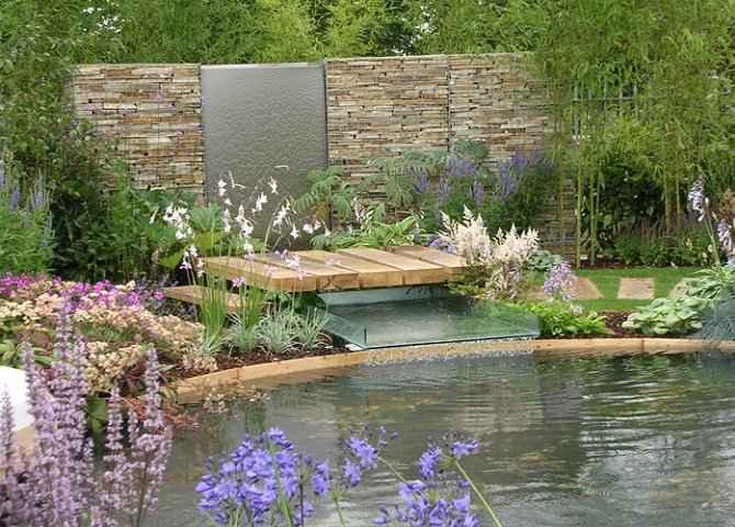 Llegar a quer taro expo nacional paisajismo vida for Paisajismo jardines con piscina