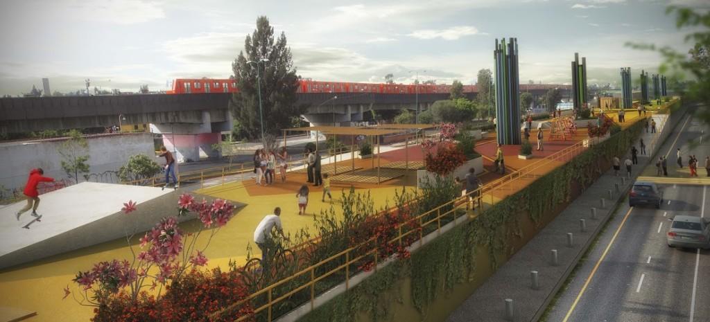 Presentan proyecto urbano para mejorar imagen de Pantitlán