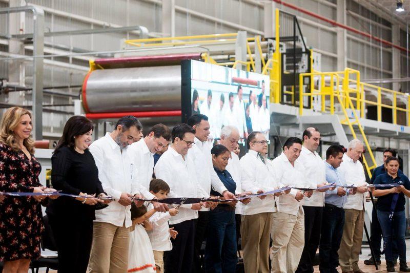 Empaques Nova inauguró planta en Yucatán
