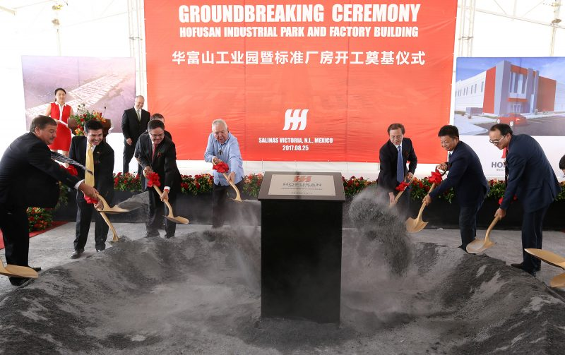 Arrancó construcción del Parque Industrial Hofusan