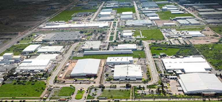 Gran dinamismo en parques industriales