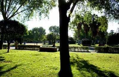 Dan mantenimiento a parques en San Luis Potosí