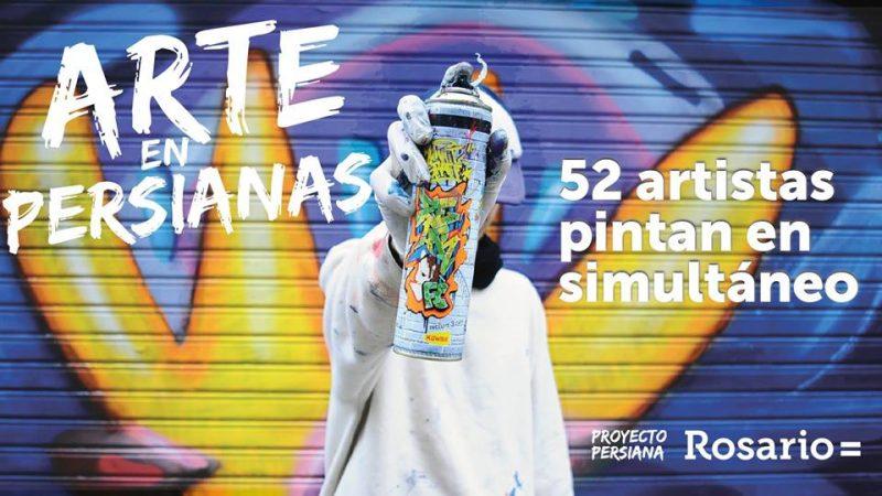 Artistas argentinos intervendrán persianas en Municipalidad de Rosario