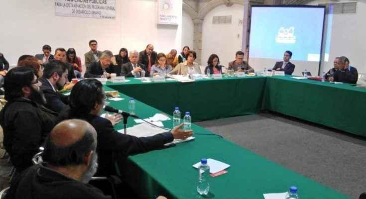 ALDF convoca al seguimiento ciudadano sobre dictamen del PGDU